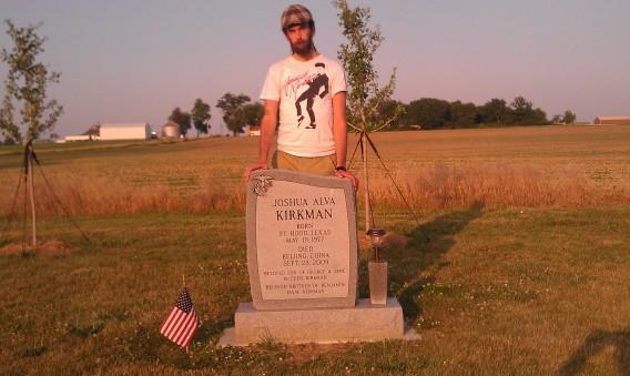 Joshua Alva Kirkman, May 19, 1977 - Sept. 23, 2009