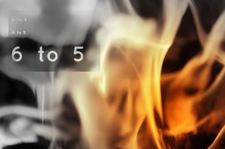 """""""6 to 5"""" © Mike Marshall (photography) & Erie Chang (graphic design)"""