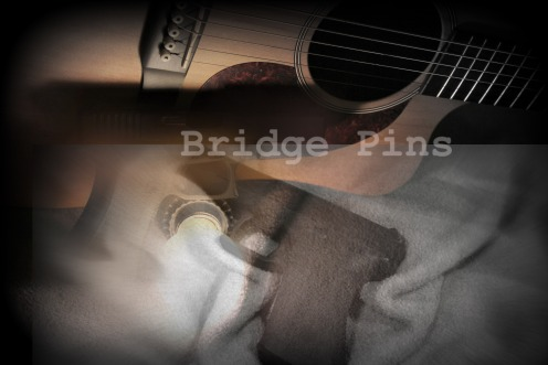 """""""Bridge Pins"""" © Mike Marshall (photography) & Erie Chang (graphic design)"""