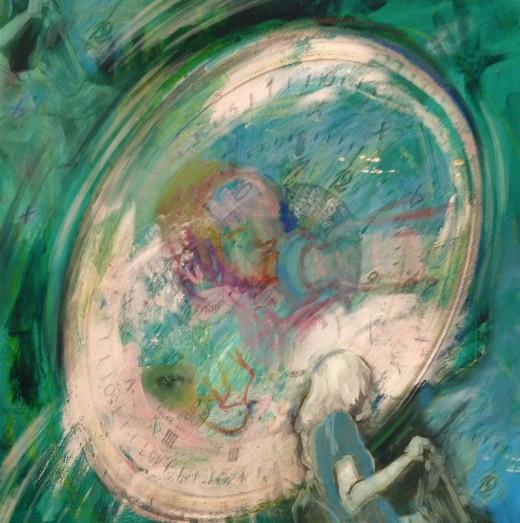 """Counter-Clock Foolish"" © Erie Chang; Original Artwork by Erie Chang"