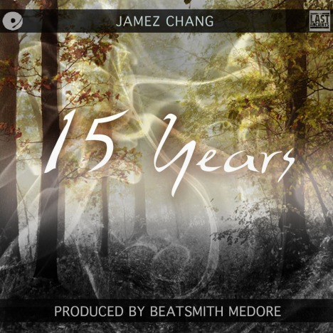 """""""15 Years"""" can be heard on YouTube and is available on SoundCloud for free. Cover Design Art by Ezra Letra"""