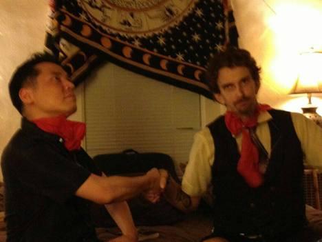 Isaac Kirkman & Jamez Chang call a truce