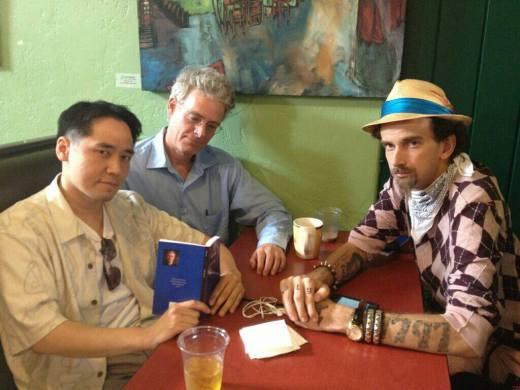 Jamez Chang, John Pursch and Isaac Kirkman at Epic Cafe (Tuscon, AZ—Aug. 2013)